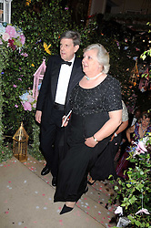 SIR TOBIAS CLARKE and ANNE BECKWITH-SMITH at the Royal Academy of Art's Summer Ball held at Burlington House, Piccadilly, London on 16th June 2008.<br />