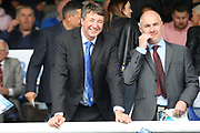 Peterborough United joint owner Dr Jason Neale before the EFL Sky Bet League 1 match between Peterborough United and Portsmouth at London Road, Peterborough, England on 15 September 2018.
