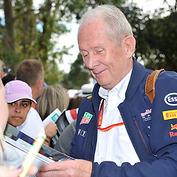 Dietrich Mateschitz, team owner of Red Bull Racing.<br /> <br /> Round 1 - 3rd day of the 2017 Formula 1 Rolex Australian Grand Prix at The circuit of Albert Park, Melbourne, Victoria on the 25th March 2017.<br /> Wayne Neal | SportPix.org.uk