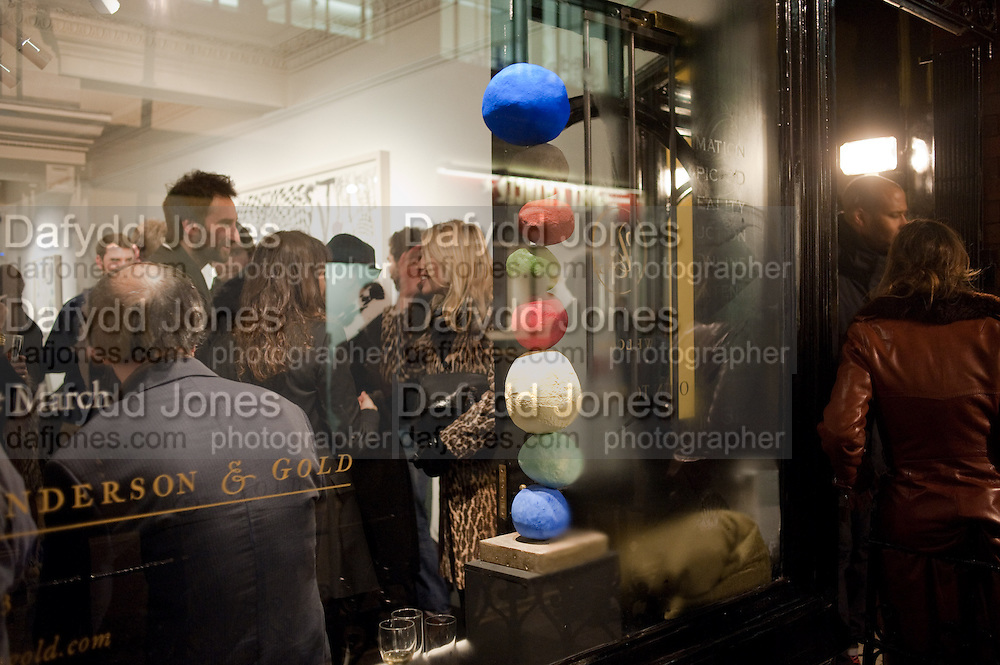 There is a Land Called Loss   Annie Morris   Pertwee Andersen and Gold, in association with Adam Waymouth Art , Private View, 15 bateman st. W1 2nd February 2012