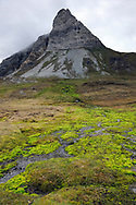 Arctic mountain landscape, Svalbard, Norway