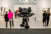 Final Days by Kaws - Frieze London and Frieze Masters 2014, Regents Park, London, 14 Oct 2014.