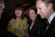 Janet Street-Porter and Judith Greer. National Portrait Gallery  150th Anniversary Fundraising Gala. National Portrait Gallery. London. 28 February 2006. ONE TIME USE ONLY - DO NOT ARCHIVE  © Copyright Photograph by Dafydd Jones 66 Stockwell Park Rd. London SW9 0DA Tel 020 7733 0108 www.dafjones.com