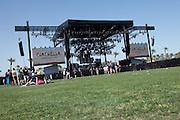 Coachella main Stage at the 2010 Coachella Music Festival in Indio, CA on April 16, 2010.