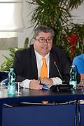 Conferenza stampa per la presentazione del campionato Under 20 che si terr&agrave; a Lignano Sabbiadoro<br /> Nella foto: Mimmo Cacciuni<br /> Agenzia Ciamillo/Castoria