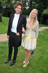 RICHARD DENNEN and MARTHA WARD at the Raisa Gorbachev Foundation fourth annual fundraising gala dinner held at Stud House, Hampton Court, Surrey on 6th June 2009.