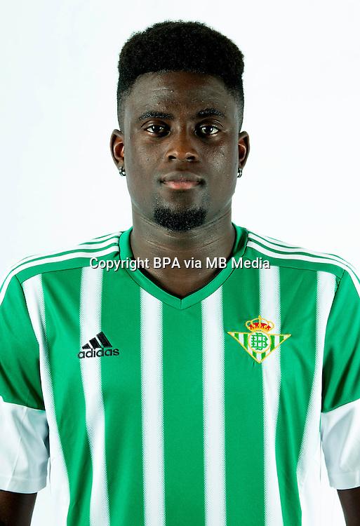 Spain - Liga BBVA 2015-2016 / <br /> ( Real Betis Balompie ) - <br /> Alfred N'Diaye