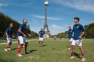 Rumanian team at Homeless world cup Paris.