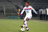 FOOTBALL - FRENCH CUP 2011/2012 - 1/8 FINAL - OLYMPIQUE LYONNAIS v GIRONDINS DE BORDEAUX - 08/02/2012 - PHOTO EDDY LEMAISTRE / DPPI - MICHEL BASTOS (OL)