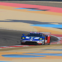#67, Ford Chip Ganassi Team UK, Ford GT, driven by:  Andy Priaulx, Harry Tincknell, WEC BAPCO 6 Hours of Bahrain, 17/11/2017,