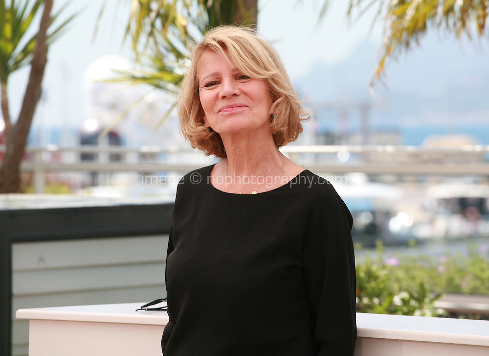 Nicole Garcia, President of the Camera d'Or Jury at the photo call for the Camera d'Or Jury at the 67th Cannes Film Festival, Saturday 17th May 2014, Cannes, France.