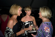 SUSAN KING; BEAN SOPWITH; JO MALONE, Royal Parks Foundation Summer party. Gala evening, sponsored by Candy & Candy on behalf of One Hyde Park. Hyde Park. London. 10 September 2008 *** Local Caption *** -DO NOT ARCHIVE-© Copyright Photograph by Dafydd Jones. 248 Clapham Rd. London SW9 0PZ. Tel 0207 820 0771. www.dafjones.com.