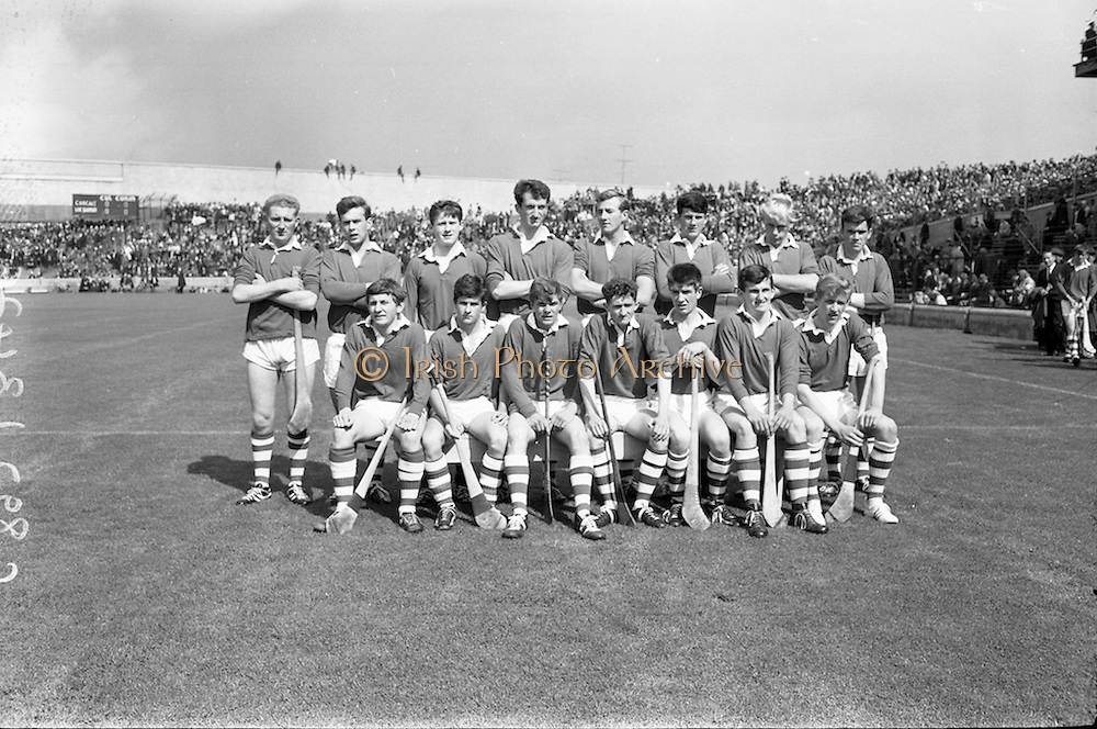 03/09/1967<br /> 09/03/1967<br /> 3 September 1967<br /> All-Ireland Minor Hurling Final: Cork v Wexford at Croke Park, Dublin.<br /> The Cork Minor team which defeated Wexford in the All-Ireland Minor Hurling Final.