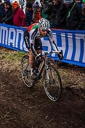 Julien TARAMARCAZ (10,SUI), 5th lap at Men UCI CX World Championships - Hoogerheide, The Netherlands - 2nd February 2014 - Photo by Pim Nijland / Peloton Photos