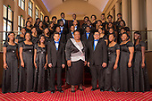 Ramsay High School concert choir group photo