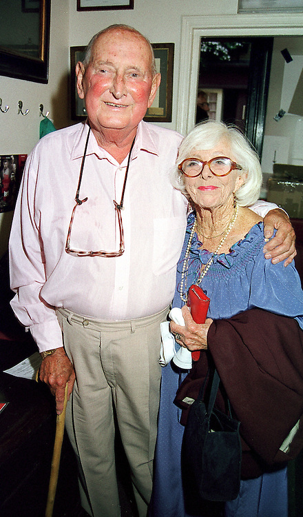 MR & MRS RICHARD STONE, the theatrical agent at a party in London on 12th September 2000.OGU 49