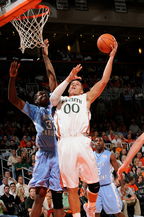 2009 Miami Hurricanes Men's Basketball vs North Carolina