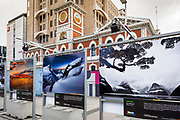 New Zealand Geographic photography display, Christchurch, Canterbury, South Island, New Zealand