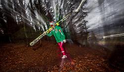 05.01.2014, Paul Ausserleitner Schanze, Bischofshofen, AUT, FIS Ski Sprung Weltcup, 62. Vierschanzentournee, Qualifikation, im Bild Tom Hilde (NOR) // Tom Hilde (NOR) during qualification Jump of 62nd Four Hills Tournament of FIS Ski Jumping World Cup at the Paul Ausserleitner Schanze, Bischofshofen, Austria on 2014/01/05. EXPA Pictures © 2014, PhotoCredit: EXPA/ JFK