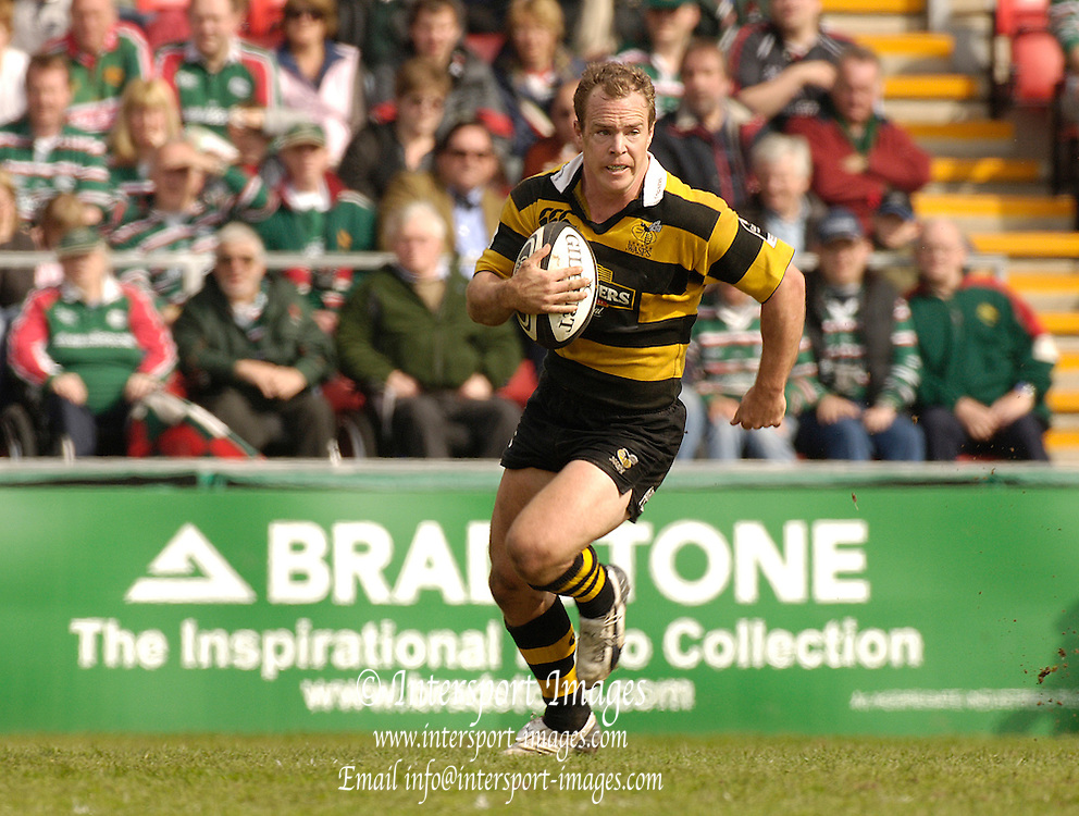 Leicester, ENGLAND, Mark van Gisbergen, Guinness Premiership Rugby,  Leicester Tigers vs London Wasps © Peter Spurrier/Intersport-images.com.