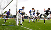 Photo. Daniel Hambury.<br /> Colchester United v Chelsea XI. Pre Season Friendly.<br /> 30/07/2005.                              <br /> A goal mouth scramble during the match.