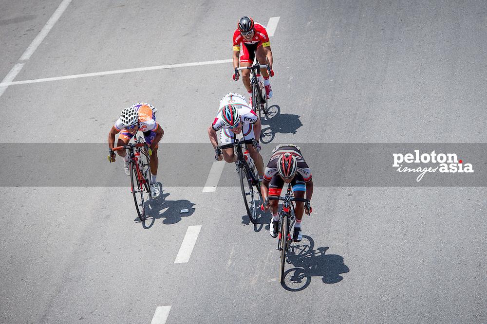 Le Tour de Langkawi 2015/ Stage2/ Alor Setar - Sungai Petani/ TSG/ Othman,M. Adiq Husaini/ Synergy Baku/ Asadov,Elchin