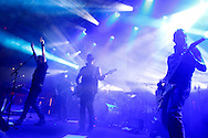 """Titãs começam a comemoração de 30 anos com releitura de """"Cabeça Dinossauro"""". O grupo de rock paulistano Titãs realiza show no Sesc Belenzinho, em comemoração aos 30 anos da banda.São Paulo, Brasil, março, 16, 2012. DANIEL GUIMARÃES"""
