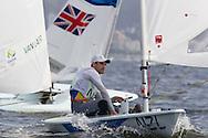 2016 Olympic Sailing Games-Rio-Brazil, ANP Copyright Olympische Spelen Zeilen, ls-NZL- Sam Meech- Laser Standaard