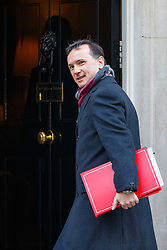© Licensed to London News Pictures. 17/01/2017. London, UK. Wales Secretary ALUN CAIRNS attends a cabinet meeting in Downing Street on Tuesday, 17 January 2017 before Prime Minister Theresa May's Brexit plan speech. Photo credit: Tolga Akmen/LNP