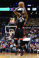 Dec 29, 2016; Phoenix, AZ, USA;  Toronto Raptors forward Terrence Ross (31) shoots the ball in the first half of the NBA game against the Phoenix Suns at Talking Stick Resort Arena. The Suns won 99-91. Mandatory Credit: Jennifer Stewart-USA TODAY Sports
