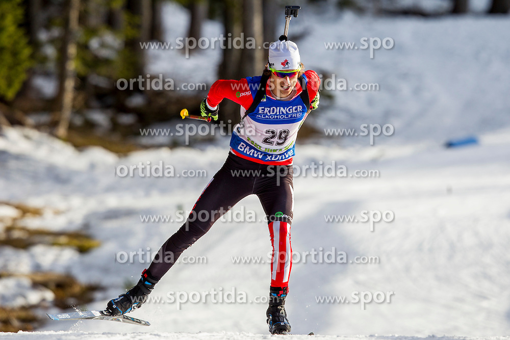Brendan Green (CAN) during Men 10 km Sprint at day 1 of IBU Biathlon World Cup 2015/16 Pokljuka, on December 17, 2015 in Rudno polje, Pokljuka, Slovenia. Photo by Urban Urbanc / Sportida