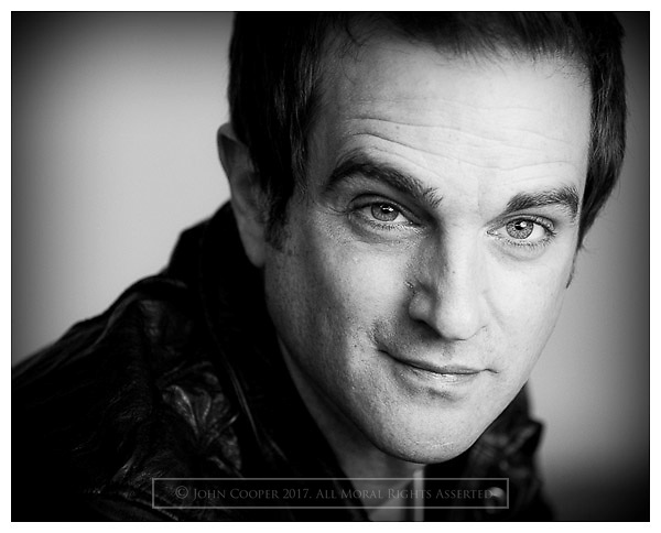 Headshot of Actor and casting agent Danny Jackson.