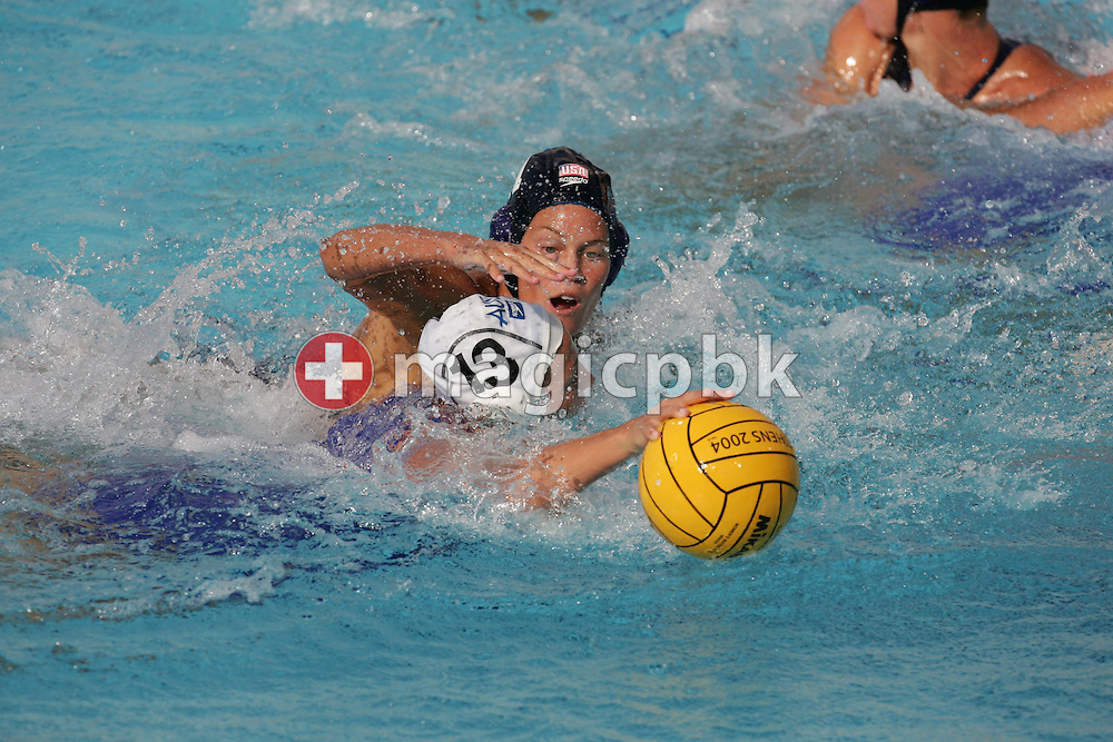 Waterpolo AUS - USA  (5:6) Bronze Medal Match, Women....blau 11....Photo by PATRICK B. KRAEMER (Photo by Patrick B. Kraemer / MAGICPBK)