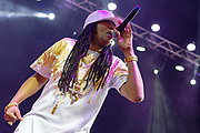 DJ Kool performs during the Summer Spirit Festival at Merriweather Post Pavilion in Columbia, Md on Sunday, August 6, 2017.