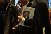 Percy Sutton's Funeral held at Riverside Church in Harlem, USA on January 6, 2010
