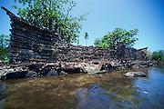Nan Madol ruins, Pohnpei, Micronesia<br />