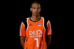 25-04-2013 VOLLEYBAL: NEDERLANDS MANNEN VOLLEYBALTEAM: ROTTERDAM<br /> Selectie Oranje mannen seizoen 2013-2014 / FIVB Heroes /nm1/<br /> &copy;2013-FotoHoogendoorn.nl