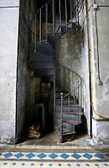 Usine de La Schappe, Interiors.<br /> Briancon, Hautes Alpes, France