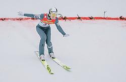 16.02.2020, Kulm, Bad Mitterndorf, AUT, FIS Ski Flug Weltcup, Kulm, Herren, im Bild Ziga Jelar (SLO) // Ziga Jelar of Slovenia during his Jump for the men's FIS Ski Flying World Cup at the Kulm in Bad Mitterndorf, Austria on 2020/02/16. EXPA Pictures © 2020, PhotoCredit: EXPA/ Dominik Angerer