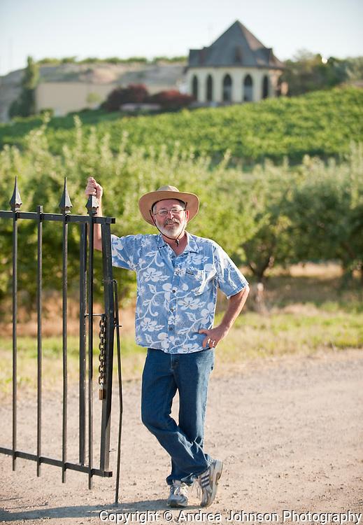 Winemaker Chuck Devline, Ste. Chapelle Winery, Snake River AVA, Idaho