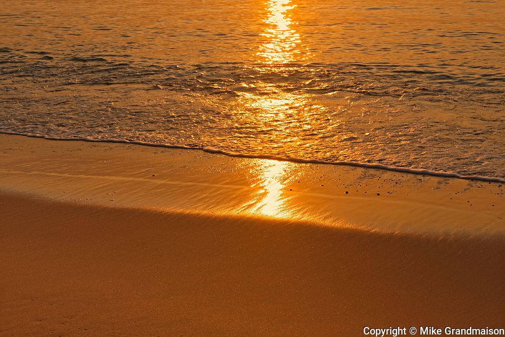 Sunrise on Aspy Bay (Cabot Strait - Atlantic Ocean). Cape Breton Island.<br /><br />Nova Scotia<br />Canada