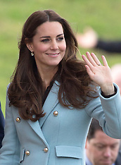 Duke and Duchess of Cambridge-Valero Refinery-Wales