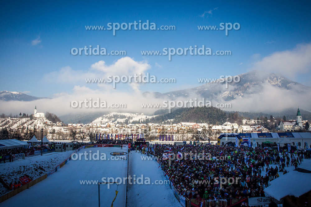 Ljubno during the First  Round at Day 1 of World Cup Ski Jumping Ladies Ljubno 2016, on February 13, 2016 in Ljubno, Slovenia. Photo by Vid Ponikvar / Sportida