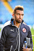 Danny Williams before the Capital One Cup match between Portsmouth and Reading at Fratton Park, Portsmouth, England on 25 August 2015. Photo by Adam Rivers.
