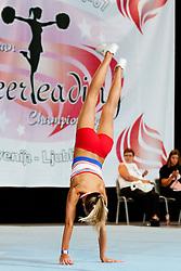 Flip Piran, Slovenia at European Cheerleading Championship 2011, on July 2, 2011, in SRC Stozice, Ljubljana, Slovenia (Photo by Matic Klansek Velej / Sportida)
