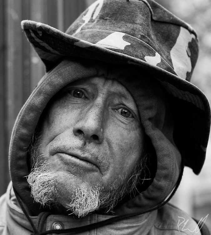 Portraits of the Unfortunate, captured in Portland, Oregon