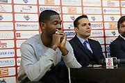 DESCRIZIONE : Roma Lega A conferenza stampa Acea Roma Seat Stemacwagen<br /> GIOCATORE : Bobby Jones Nicola Alberani<br /> SQUADRA : Acea Roma<br /> CATEGORIA : curiosita ritratto<br /> EVENTO : Lega A 2012 2013<br /> GARA : conferenza stampa<br /> DATA : 07/12/2012<br /> SPORT : Pallacanestro<br /> AUTORE : Agenzia Ciamillo-Castoria/M.Simoni<br /> Galleria : Lega A 2012-2013<br /> Fotonotizia :  Roma Lega A conferenza stampa Acea Roma Seat Stemacwagen<br /> Predefinita :