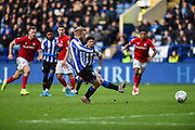GOAL. Sheffield Wednesday vice captain Barry Bannan scores a penalty during the EFL Sky Bet Championship match between Sheffield Wednesday and Bristol City at Hillsborough, Sheffield, England on 22 December 2019.