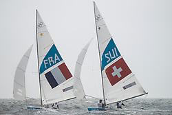 2012 Olympic Games London / Weymouth<br /> <br /> Rohart Xavier, PONSOT Pierre-Alexis, (FRA, Star)<br /> Marazzi Flavio, De Maria Enrico, (SUI, Star)