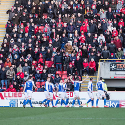 Aberdeen v Kilmarnock, Scottish Premiership, 27th January 2018<br /> <br /> Aberdeen v Kilmarnock, Scottish Premiership, 27th January 2018 &copy; Scott Cameron Baxter | SportPix.org.uk<br /> <br /> Kilmarnock take the lead through Kris Boyd.